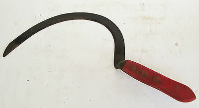 """Old Hand Scythe~17.5""""~Scarry Halloween Prop~Farm~Ranch~Grass/weed~Cutter/slasher"""