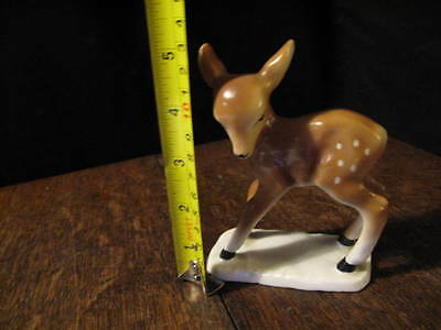 Vintage China / porcelain  Deer Bambi  Ornament