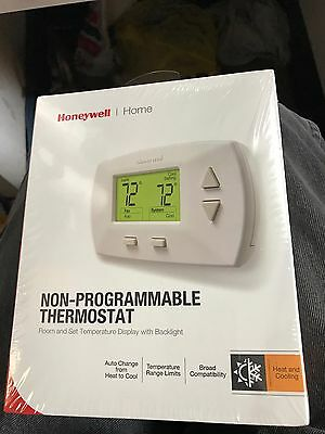 Honeywell Deluxe Home Digital Display Non-Programmable Heat Cool Thermostat New