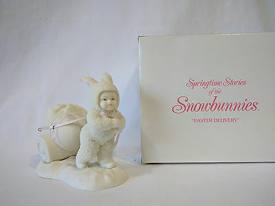 Dept 56 Snowbunnies Easter Delivery 26085 Retired