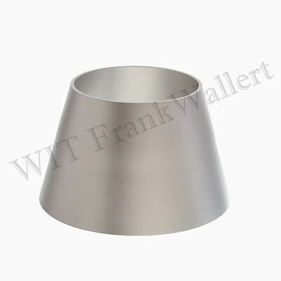 Reduction Stainless steel 3 1/2in auf 3in / 3,5 auf 3 Inch V2A Reducer 1.4307