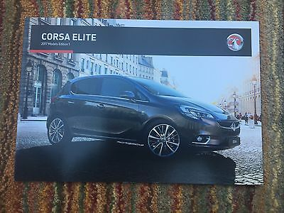 VAUXHALL - New Corsa Elite UK Sales Brochure July 2016