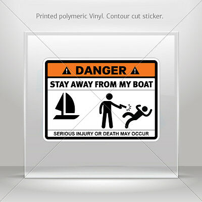 Sticker Decal Danger Funny Stay Away From My Tools Vehicle st5 X352W