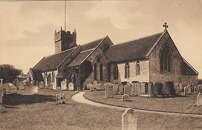 Church    ,   Freshwater  Bay   -    Isle   Of  Wight      (D13)
