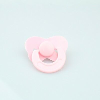 Dolls Accessories Tiny Pink Pacifier Dummy Fit Reborn Baby Dolls
