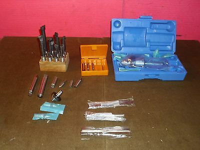Machinist Type Boring Bar Lot And Other Machinist Type Tool Lot