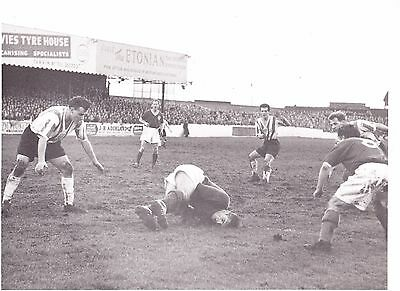 Chester Fc 1950's Press Match Action Photo
