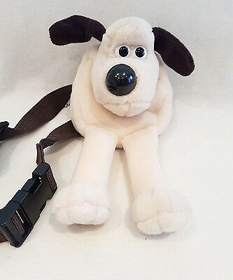 Vintage Wallace And Gromit New Rucksack  Soft /plush Toy Bag
