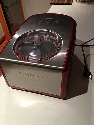Cuisinart Ice-Cream 1.5 Litre with Compressor - Stainless Steel