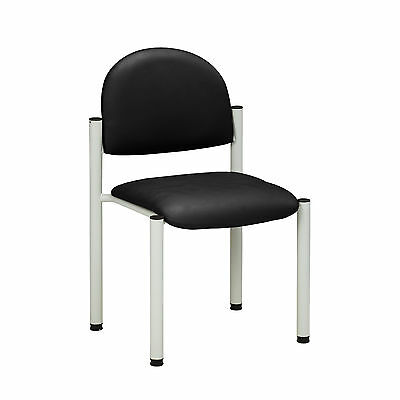 Gray Frame Chair with no arms-Gray  1 ea