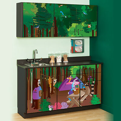 Cool Park Campgrounds Cabinets  1 ea