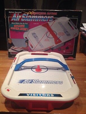Air Slammers - Hilco Games - Tabletop Air Hockey- Battery Operated.