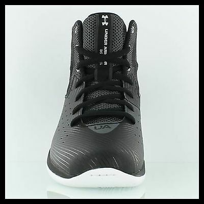 Under Armour Basketball Shoes Black Youth 7 New