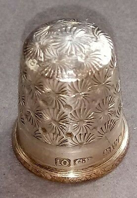 Charles Horner Sterling Silver Thimble hallmarked