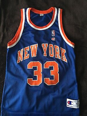Authentic Champion Vintage 90's Patrick Ewing Jersey never worn!!