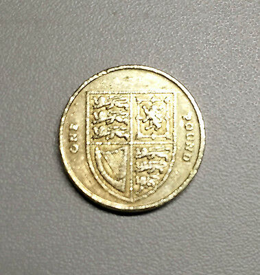 VERY RARE 2008 Royal Arms one pound coin. Collectors item