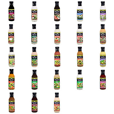 Walden Farms Near Zero Calorie Salad Dressing-Carb Free-Fat Free-All Flavours