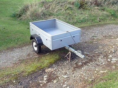 Caddy Car Trailer 4x3