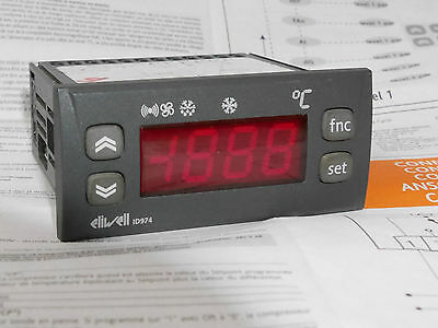 Eliwell ID974 - Refrigerator controller for temperature - 230VAC (no probe)