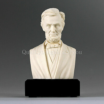 President Abraham Lincoln Bust Statue Sculpture CIVIL WAR PERFECT GIFT