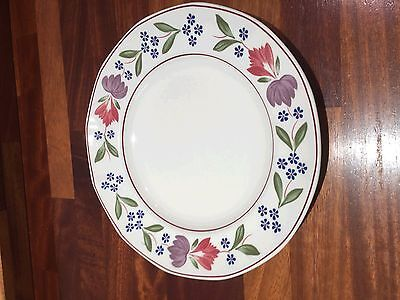 """Adams Old Colonial 9"""" Dinner Plates x3"""
