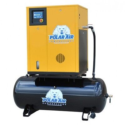 10 HP SP Rotary Screw Air Compressor W/ 80 Gallon Tank