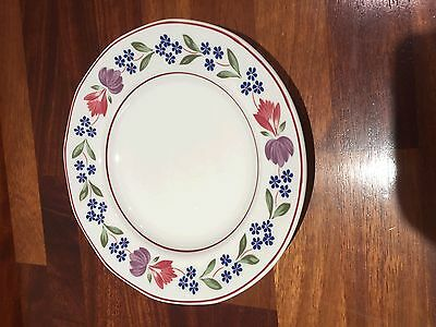 """Adams Old Colonial 10"""" Large Dinner Plates x2"""