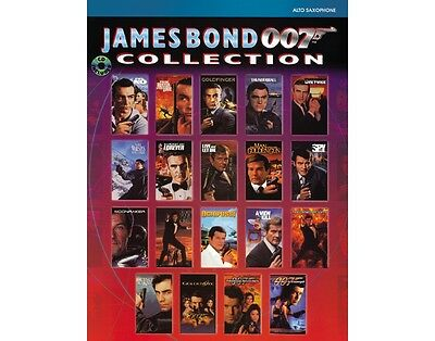 Alfred James Bond 007 Collection Alto Sax Book & CD