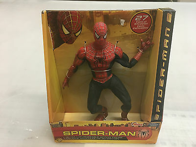 """Spiderman 2 12"""" inch Action Figure Official Movie Merchandise - New in box!"""