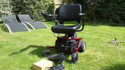 Travelux Quest - Red - Electric Travel Wheelchair - Used Once