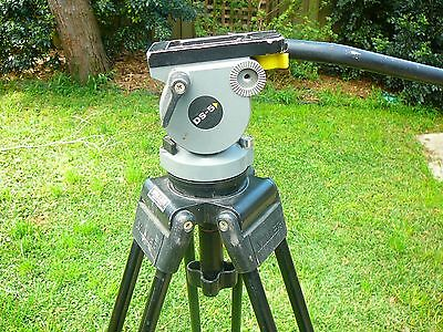 MILLER SINGLE STAGE TRIPOD PROFESSIONAL CAMERA SUPPORT with DS 5 FLUID HEAD