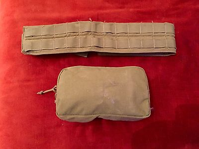 Army Medical Pouch With Supplies/ ifak, Prepping, Tactical Tailoring Belt,