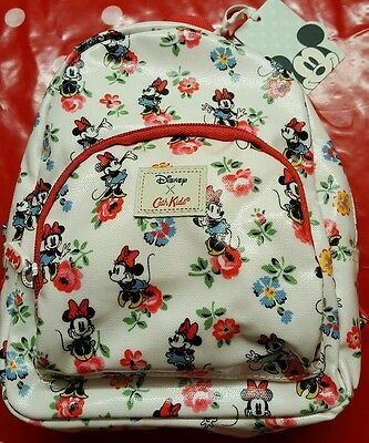 Bnwt Disney Cath Kidston Minnie mouse Kids Mini Backpack Limited Edition New