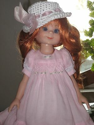 """14"""" Betsy McCall Postage Stamp Doll  Make Over & Complete Original Outfit, Stand"""