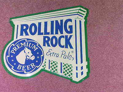 Rolling Rock Extra Pale Sign -- Tin