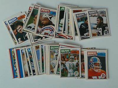 65 x Topps NFL American Football Cards from 1987