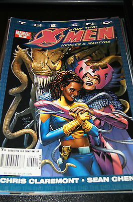 comics US - Marvel - the end - X-men heroes & / and martyrs - n° / issue 4