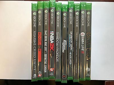 Lot Of 10 New Xbox One (Xb1) Games