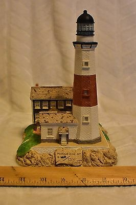 1994 Harbour Lights! Montauk Point, NY! #143! Signed! COA! L.E. #4629/5500!