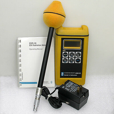Wandel & Goltermann EMR-20 Beta Electromagnetic Radiation Meter 3GHz with Probe