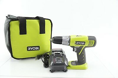 Ryobi P271 18 Volt 1/2 in. 2-Speed Drill-Driver w/ Charger