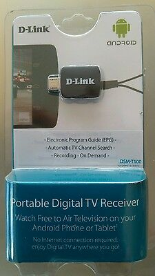 D-Link TV Tuner (DSM-T100) for Android Devices