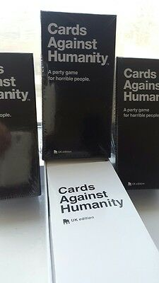 Cards Against Humanity: 550 cards UK edition - Original Game, BRAND NEW & SEALED
