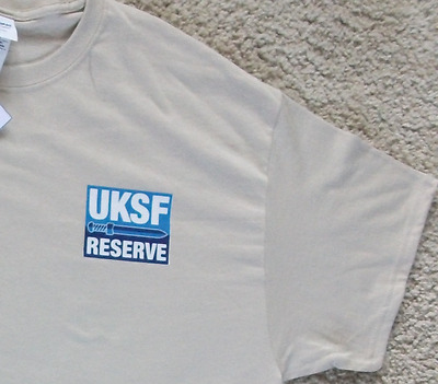 United Kingdom Special Forces Reserve Sand Colour Tee Shirt Uksfr - Size  Xl