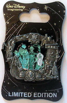 Haunted Mansion - Wdi Stained Glass Disneyland Attraction Pin - D23 - 2015