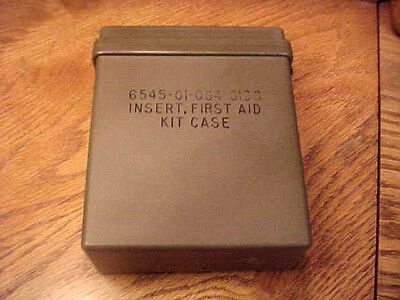 Insert First Aid Kit Case Military Backpack Camping Survival Off Roading Boating