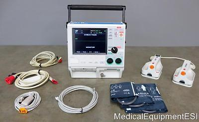 ZOLL M Series CCT 3 Lead ECG NIBP SpO2 Pacing Analyze ALS Hard Paddles