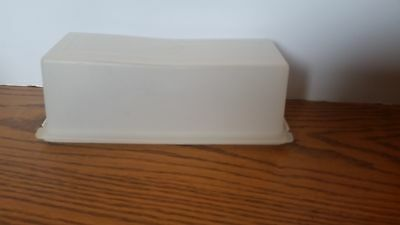 Vintage Tupperware Cheese Keeper Sheer Container 519 with Base 518