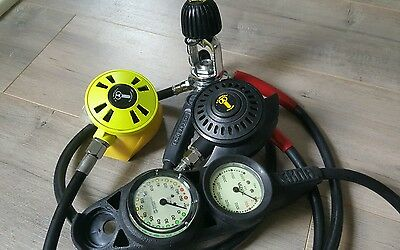 USDivers Aqualung Regulator with Octo and Console!