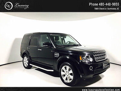 2016 Land Rover LR4  HSE Package Pano Roof Navigation 7 Passenger 14 15